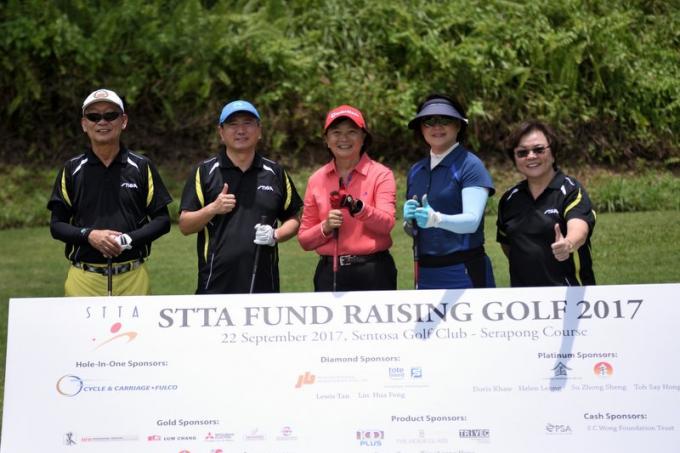STTA raises record amount in golf fund-raiser, Team Singapore