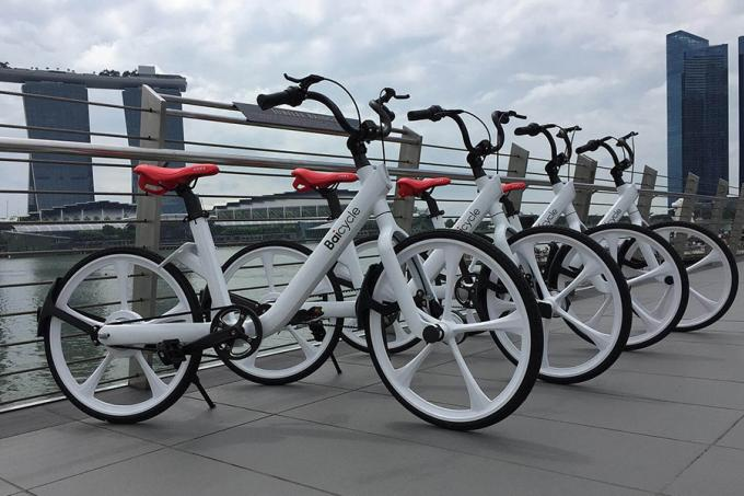 ... bike-sharing service Baicycle is expected to make its debut here by the end of the year. It will be the sixth bike-share firm in Singapore.