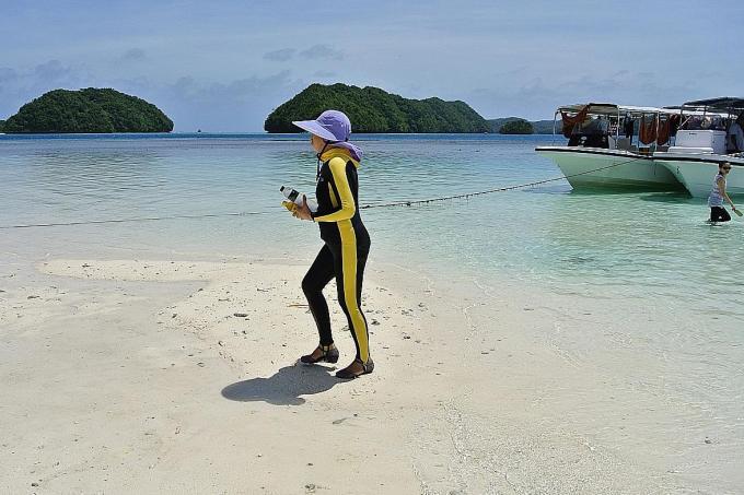 Pacific's Palau forces tourists to sign eco-pledge