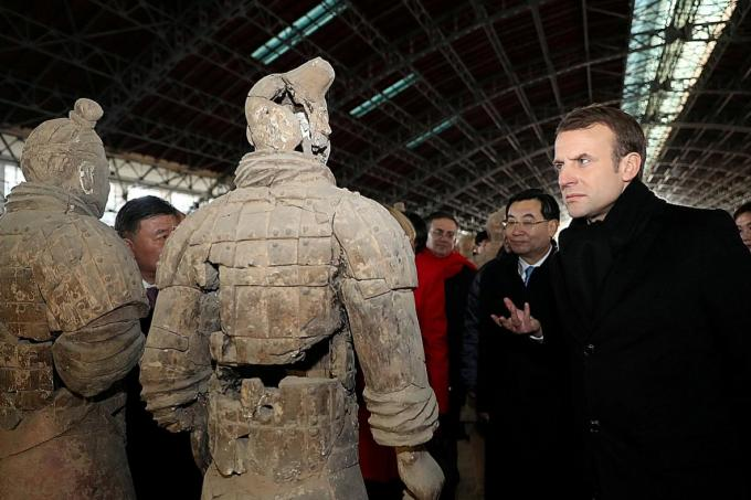France's Macron calls for Europe-China alliance on climate, Silk Road