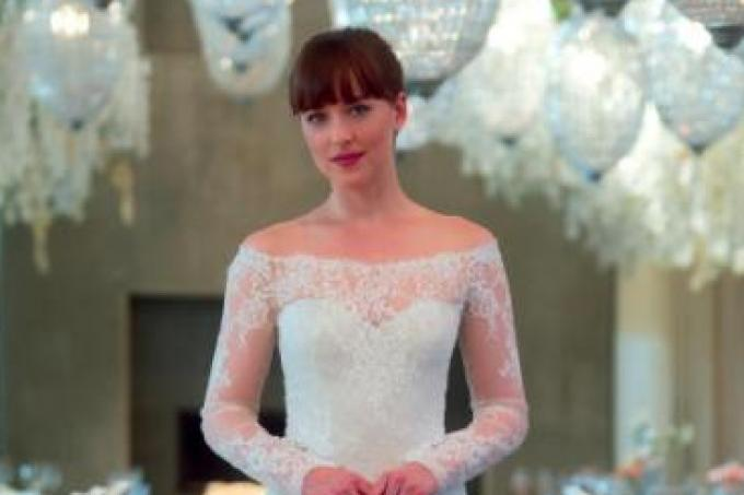 Fifty Shades Freed Dress Joins List Of Best Movie Wedding