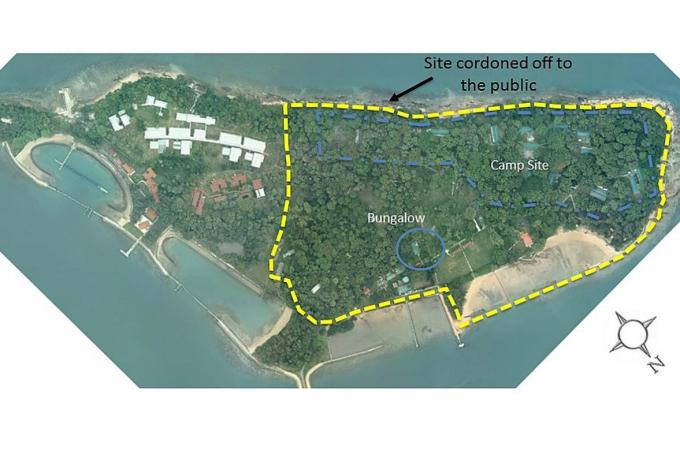 traces of asbestos found in construction debris on st johns island