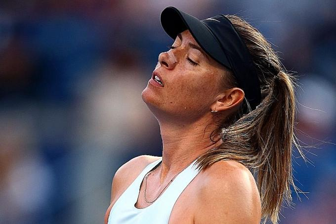 No comeback victory for Maria Sharapova in Toronto tournament