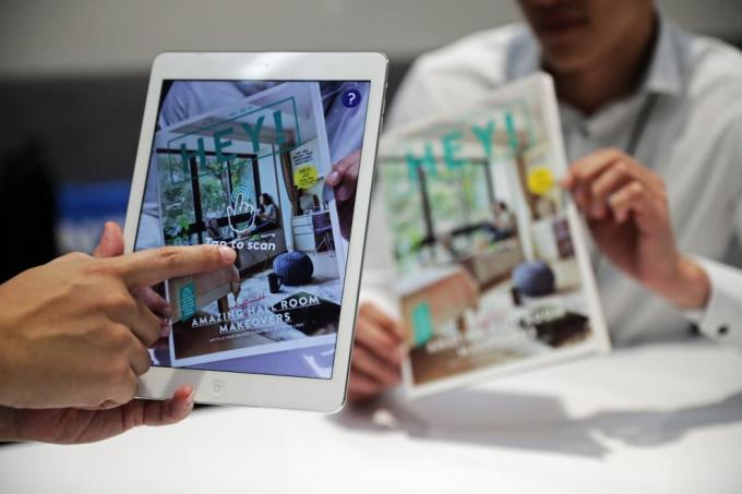 NTU's campus magazine comes 'alive' with AR