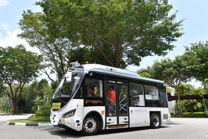 Self-driving shuttle service to start on Sentosa next week