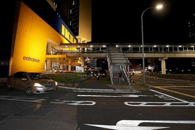 Elderly man dies after being run over by taxi outside Ikea