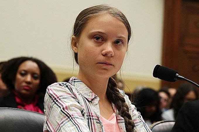 Swedish teen activist tells US Congress to listen to