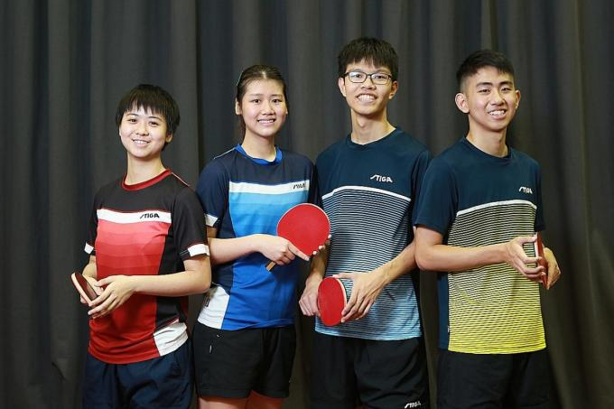 Four debutants to the fore at SEA Games table-tennis competition - The New Paper