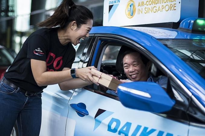 Drivers receive care packages from prudential