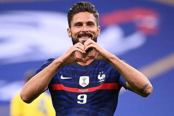 Olivier Giroud Eyeing Thierry Henry S 51 Goal Record For France Latest Football News The New Paper