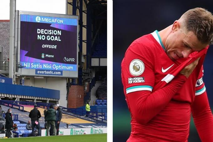 Liverpool denied by VAR in derby draw with Everton, Latest Football News -  The New Paper