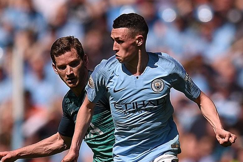 Phil Foden to the fore for Man City