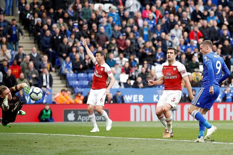 Arsenal out of top four after third straight defeat