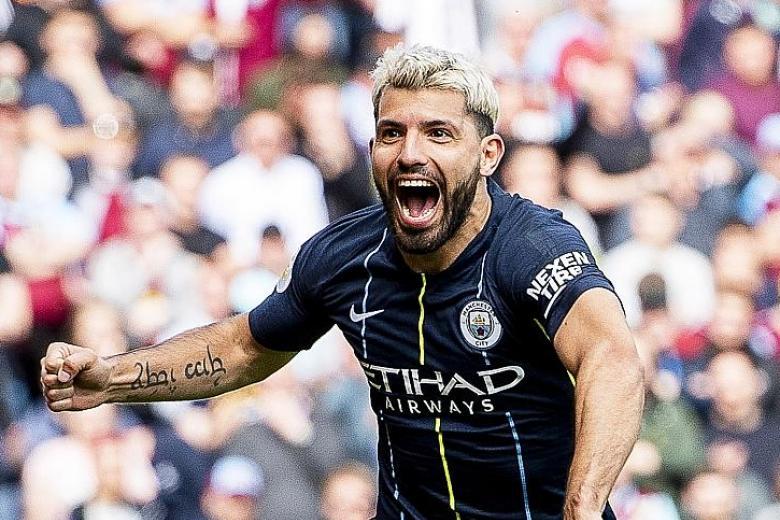 Man City manager Pep Guardiola hails Sergio Aguero as a legend