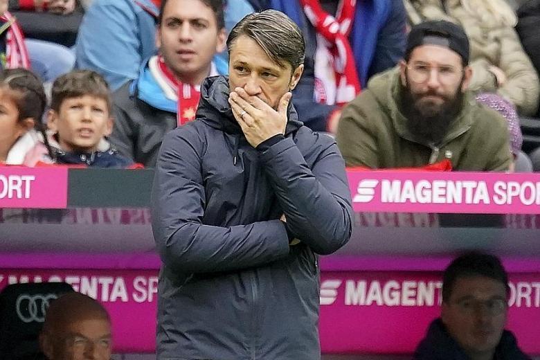 Niko Kovac critical of complacent Bayern Munich