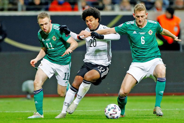 Serge Gnabry annoyed by Germany transition talk