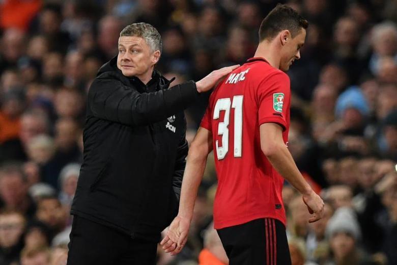 Man United win not enough as City reach League Cup final