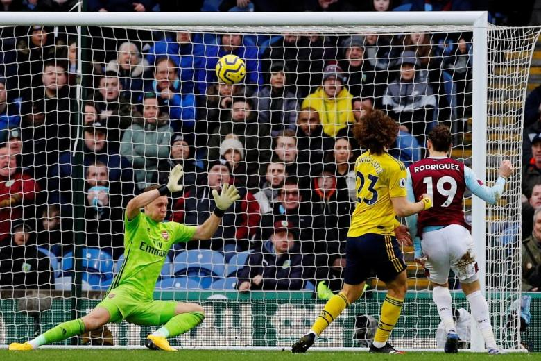 Arsenal lucky in Burnley draw