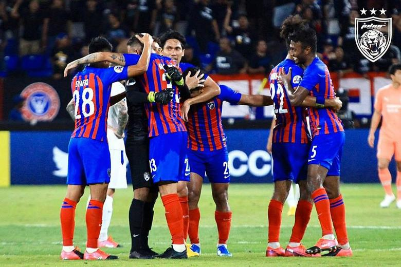 Johor's Southern Tigers stun Suwon Bluewings at their new den