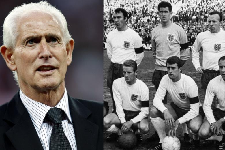 Goalkeeper Peter Bonetti made seven appearances for England and was part of the 1966 World Cup-winning squad.